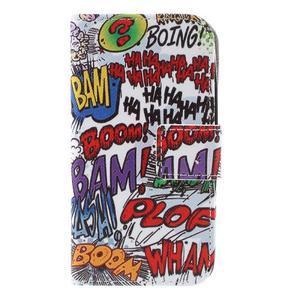 Styles peňaženkové puzdro pre mobil Lenovo A319 - graffiti - 3