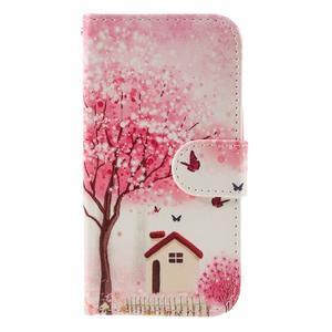 Styles peňaženkové puzdro pre mobil Lenovo A319 - domov - 3