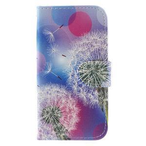 Styles peňaženkové puzdro pre mobil Lenovo A319 - púpava - 3