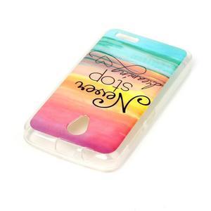 Softy gelový obal na mobil Lenovo A319 - nepřestávej snít - 3