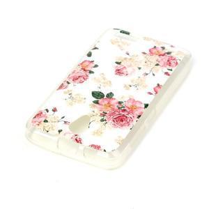 Softy gelový obal na mobil Lenovo A319 - květiny - 3