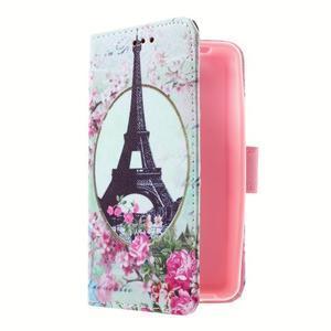 Peňaženkové puzdro pre mobil Lenovo A319 - Eiffelova veža - 3