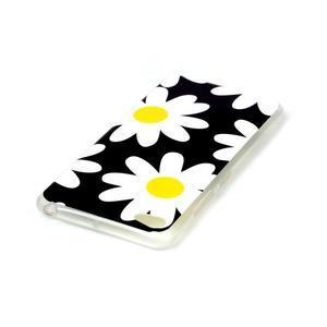 Glossy gélový obal pre mobil Lenovo S90 - kvety - 3