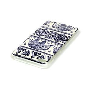 Glossy gelový obal na mobil Lenovo S90 - sloni - 3