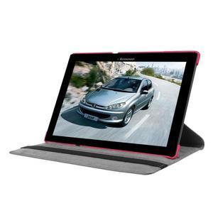 Puzdro s otočnou funkciou pre tablet Lenovo Tab 2 A10-70 - rose - 3