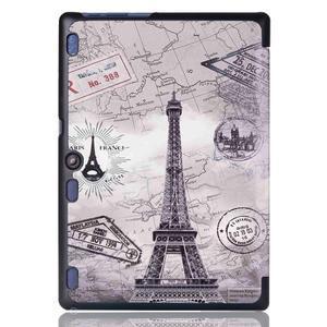 Polohovatelné puzdro pre tablet Lenovo Tab 2 A10-70 - Eiffelova veža - 3