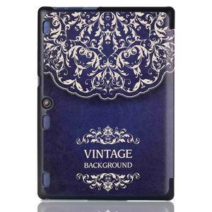 Polohovatelné pouzdro na tablet Lenovo Tab 2 A10-70 - vintage - 3