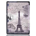 Polohovatelné puzdro pre tablet Lenovo Tab 2 A10-70 - Eiffelova veža - 3/6