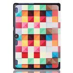 Polohovatelné puzdro pre tablet Lenovo Tab 2 A10-70 - farebné kostky - 3/6