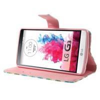 Obrázkové pouzdro na mobil LG G3 - barevná kolečka - 3/7