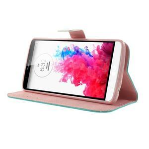Ultra motive peněženkové pouzdro na LG G3 - zamilovaná sova - 3