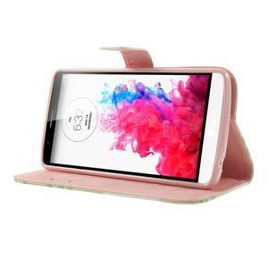 Ultra motive peněženkové pouzdro na LG G3 - sovy na větvi - 3