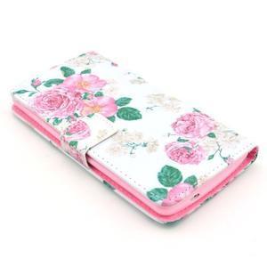 Obrázkové puzdro pre mobil LG G3 - kvetiny - 3