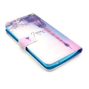 Obrázkové puzdro pre mobil LG G3 - Eiffelova veža - 3