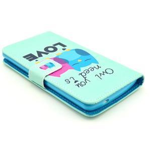 Obrázkové puzdro pre mobil LG G3 - soví láska - 3