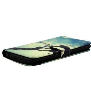 Obrázkové koženkové pouzdro na mobil LG G3 - láska - 3