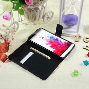 Motive koženkové pouzdro na LG G3 - kouzlení motýlci - 3