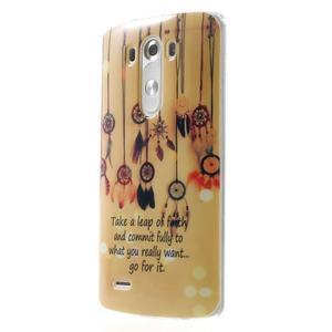 Gélový kryt pre mobil LG G3 - lapače snov - 3