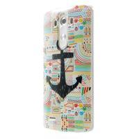 Gélový kryt pre mobil LG G3 - kotva - 3/7