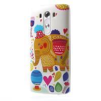 Silks gélový obal pre mobil LG G3 - slon - 3/7