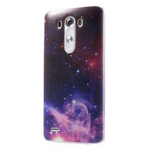 Silks gélový obal pre mobil LG G3 - galaxy - 3