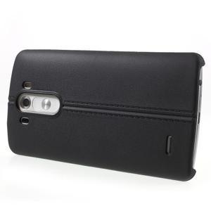 Lines gelový kryt na mobil LG G3 - černý - 3