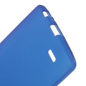 Matný gélový obal pre LG G3 - tmavomodrý - 3