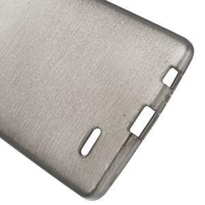 Brush gélový obal pre LG G3 - sivý - 3