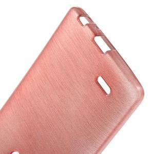 Brush gelový obal na LG G3 - růžový - 3