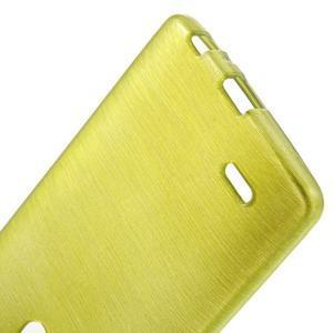 Brush gélový obal pre LG G3 - zelený - 3