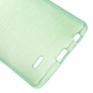 Brush gélový obal pre LG G3 - cyan - 3