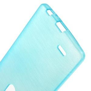 Brush gélový obal pre LG G3 - modrý - 3