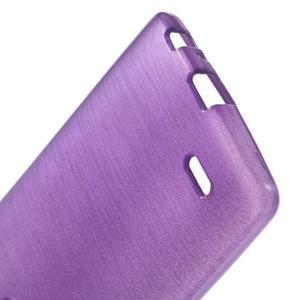 Brush gelový obal na LG G3 - fialový - 3
