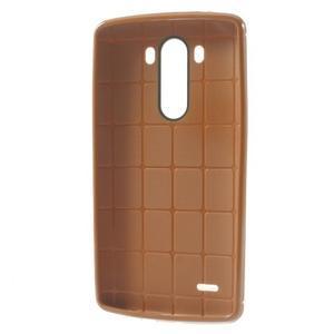 Silks gélový obal pre LG G3 - oranžový - 3