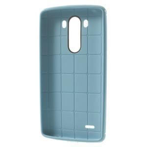 Silks gélový obal pre LG G3 - svetlomodrý - 3