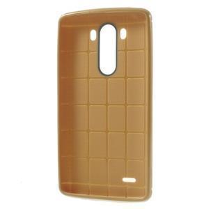 Silks gélový obal pre LG G3 - hnedý - 3