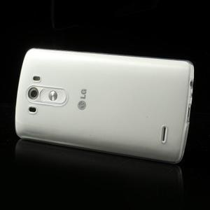 Ultratenký slim obal na mobil LG G3 - transparentní - 3