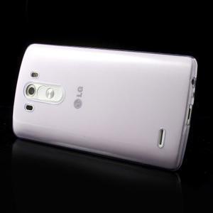 Ultratenký slim obal pre mobil LG G3 - fialový - 3