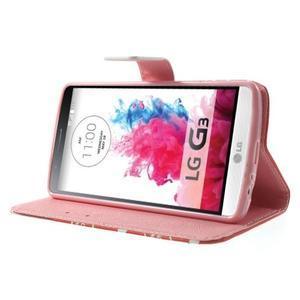 Obrázkové puzdro pre mobil LG G3 - zamilovaný medvedík - 3