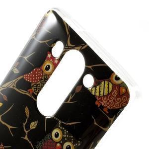 Gélový kryt pre LG G3 s - sovičky - 3