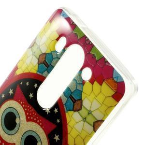 Gélový kryt pre LG G3 s - hvezdná sova - 3