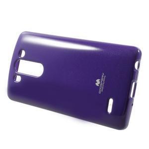 Odolný gélový obal na LG G3 s - fialový - 3