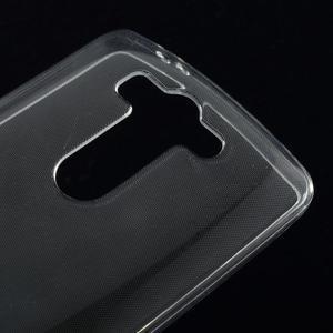 Transparentní ochranný gélový kryt LG G3 s - 3