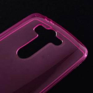 Rose ochranný gélový kryt LG G3 s - 3