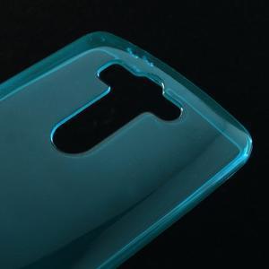 Modrý ochranný gélový kryt LG G3 s - 3