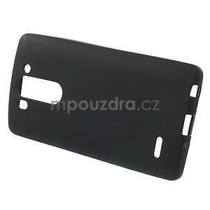 Čierny matný gélový kryt LG G3 s - 3