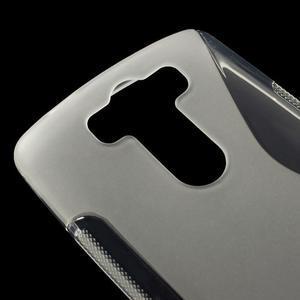 S-line transparentný gélový obal na LG G3 s - 3