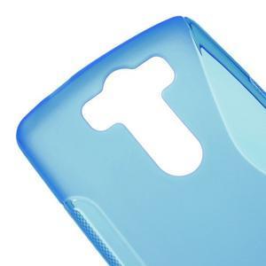 S-line modrý gélový obal pre LG G3 s - 3