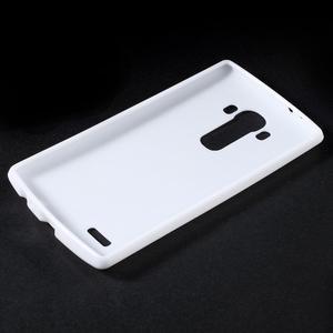 Lesklý gelový obal na LG G4 - bílý - 3