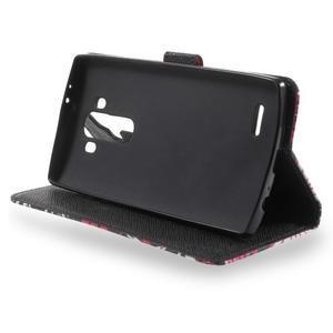 Call peňaženkové puzdro pre LG G4 - kouzelní motýľe - 3
